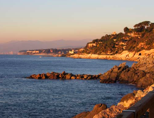 Lungomare Europa: il Parco del Beigua è anche mare